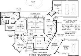 French Country Home Plans by Floor Design Country House S With Open Nature French Plans Plan