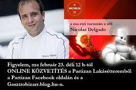 Nicolas Delgado a Partizan Lakásétteremben - Gasztrobizarr - nicolas_szorolap2