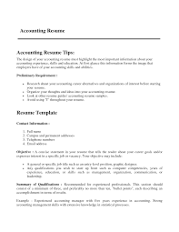 Accounting Resume Examples by Accounting Resume Verbiage Resume Format Template Open Office