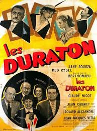 Les Duraton affiche