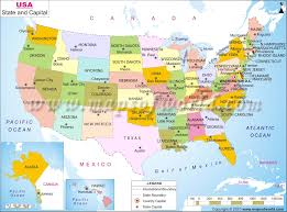 South America Map And Capitals by Map United States Study Boaytk Puzzle Usa Map With 50 States