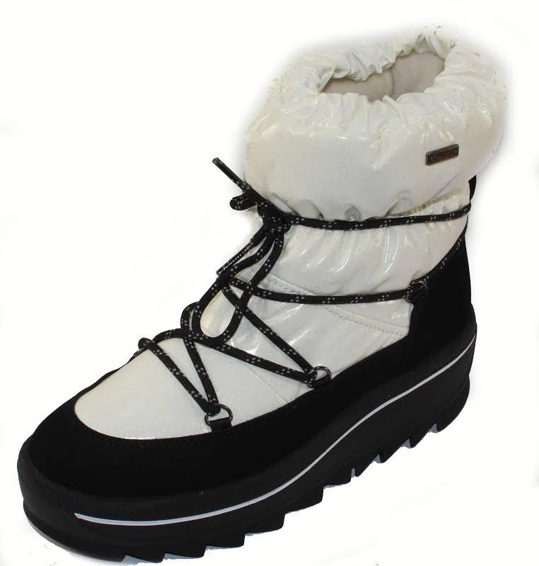 Pajar Taya Nylon Waterproof Winter Boots White 37 EU/6-6.5 US