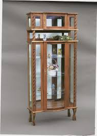 curio cabinet mission style curio cabinet magnificent photo