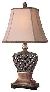 Living Room Table Lamps Antique American Tiffany Bronze Table Lamp Cashorika Decoration