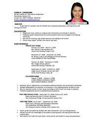 Example Job Resume by Sample Resume Jollibee Applicant Resume Ixiplay Free Resume Samples