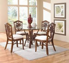 rattan and wicker dining room furniture sets dining tables and