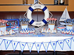 nautical baby shower decorations for home baby shower ideas gallery