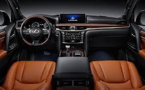 lexus jeep 2016 interior 2016 lexus lx570 launchedmotoring middle east car news reviews