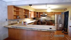 Kitchen Cabinet Refacing by Kitchen Cabinet Refacing Time Lapse Of Kitchen Cabinet Refacing