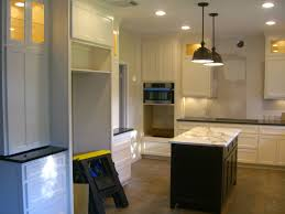 lovely small kitchen island with marble countertop plus black