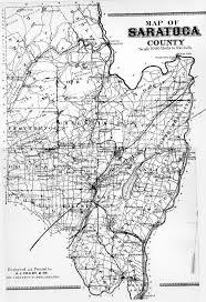 Ny County Map Map Of Saratoga County Ny Atlas