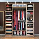 bedroom storage ideas | Closet organizers, closets organizers ...