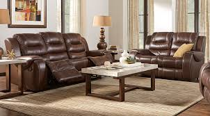 manual u0026 power reclining living room sets with sofas