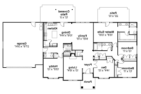 Ranch House Plan by Ranch House Plans Brennon 30 359 Associated Designs