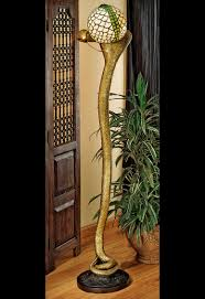 Cobra Head Light Fixtures by Cobra God Wadjet Sculptural Floor Lamp The Green Head