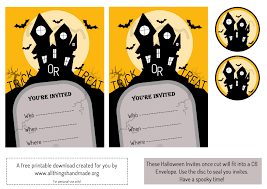 halloween invite template