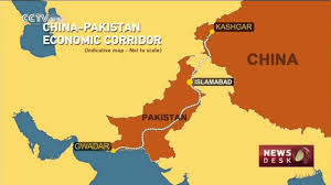 Pakistan On The Map Chinese Television Shows Pak China Corridor Map Youtube