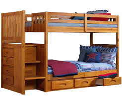Plans For Bunk Bed With Steps by Ridgeline Honey Mission Staircase Bunk Bed Bed Frames