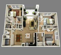 3 Bedroom House Designs Pictures 50 Three U201c3 U201d Bedroom Apartment House Plans Breakfast Bars