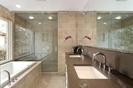modern master bathroom tile ideas flower on vase that will inspire