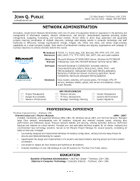 Linux System Administrator Resume Sample by Network Resume Examples Administrator Resume 266 Best Resume