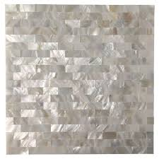 Commercial Kitchen Backsplash by Art3d Peel And Stick Kitchen Backsplash Tile Mother Of Pearl Shell