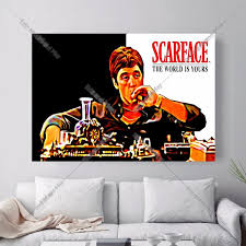 Scarface Home Decor Popular Scarface Canvas Buy Cheap Scarface Canvas Lots From China