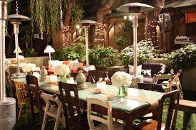 Wedding Backyard Reception Ideas by Rustic Chic Christmas Wedding Decor Weddings Tori And