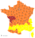 File:Carte vigilance METEO FRANCE 27 février 2010 19h30.svg ...