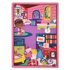 Doc Mcstuffins Home Decor Amazon Com Disney Junior Girls Toy Rug Carnival Doc Mcstuffins