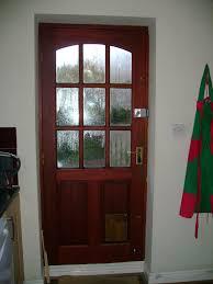 catflap in glass door doors inglehome