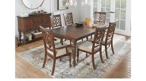 balboa heights cherry 5 pc rectangle dining room traditional