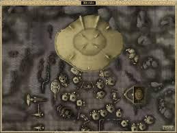 Morrowind Map Image Ald U0027ruhn Under Skar Local Map Morrowind Png Elder