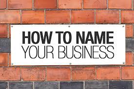 naming a business news u0026 topics