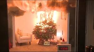 christmas tree fires can turn devastating and deadly within