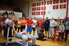falcon friends bench press competition west high