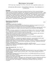 Construction Management Resume Examples by Construction Resume Template Resumes For Excavators