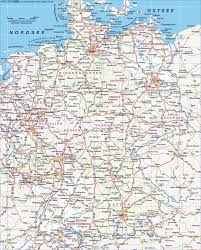 Map Germany by Blank Maps Of Germany