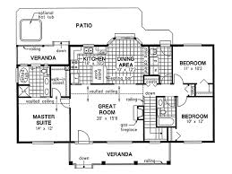 ranch house plans no dining room house design plans