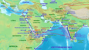 Map Of The Red Sea Indo Roman Trade Relations Wikipedia