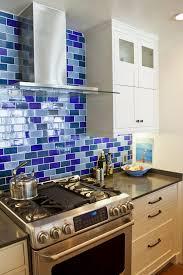 Blue Backsplash Kitchen Blue Backsplash With Ideas Hd Gallery 14092 Fujizaki