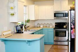 Diy Kitchen Cabinet Refacing Kitchen Diy Kitchen Cabinets Chalk Paint White And Blue Cabinet