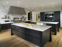 impressive grey wooden l shaped kitchen cabinets and rectangle f