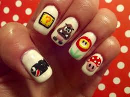 40 best super mario nail art design tutorial u0026 videos by nded