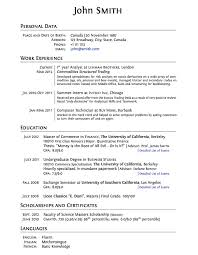 Student Resumes For First Job by Ingenious Inspiration Ideas Student Resume Template 8 Finance