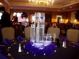 Purple Floating Candles For Centerpieces by Floating Candle Centerpieces In Purple By Sweet 16 Candelabras