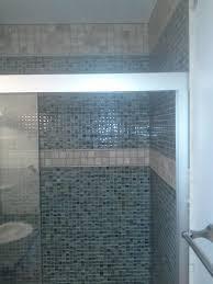 white shower tile preferred home design