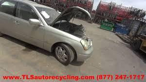 lexus ls 430 park assist parting out 2003 lexus ls 430 stock 6141rd tls auto recycling