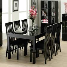 Black And White Dining Room Chairs Dining Room Cool Black Dining Room Designs With White Dining