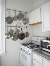 Kitchen Wall Organization Ideas 100 Kitchen Storage Ideas For Pots And Pans Wall Mounted